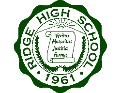 Ridge High School logo