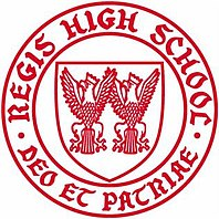 Regis High School logo